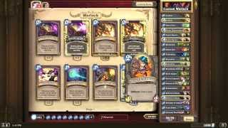 Awesome & Expensive Warlock deck for Hearthstone