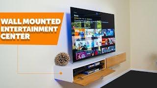 DIY Wall Mounted Entertainment Center ( Part 2 )
