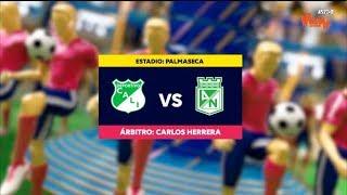 Cali Vs Nacional - Resumen Y Mejores Jugadas | Liga Aguila 2019-1 | Cuadrangulares Fecha 4
