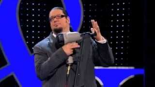 Penn & Teller: The great nail gun trick