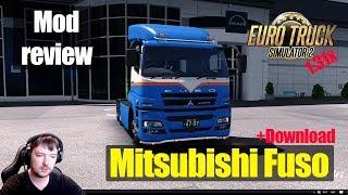 ETS2 1.31 MODS Mitsubishi Fuso Super Great V Обзор Модов Euro Truck Simulator 2