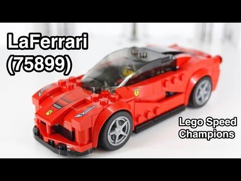 Vidéo LEGO Speed Champions 75899 : La Ferrari