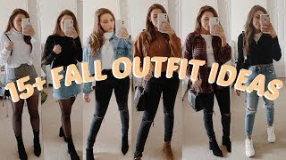 15+ FALL OUTFIT IDEAS | LOOKBOOK