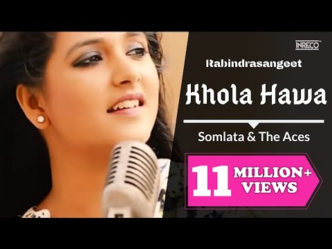 Khola Hawa | Somlata & The Aces | Rabindra Sangeet | Somlata Acharyya Chowdhury