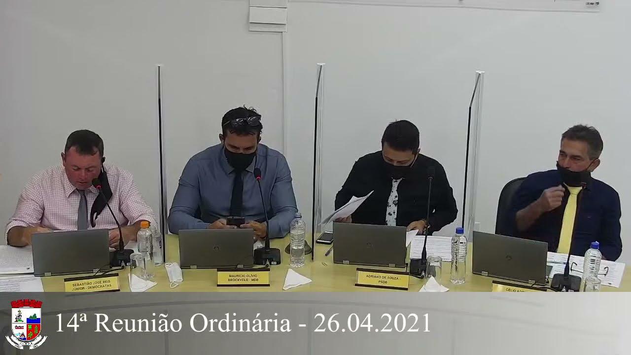 14ª Reunião Ordinária 26/04/2021
