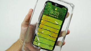 What Happens If You Cast an iPhone X in Liquid Glass?