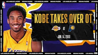 Kobe Takes Over In 2000 NBA Finals Game 4 | #NBATogetherLive Classic Game