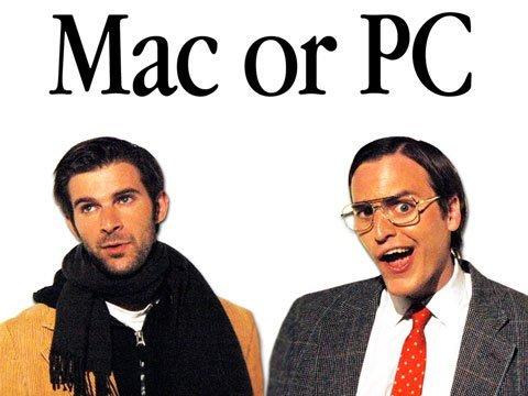 Den evige kampen mellom Mac og PC