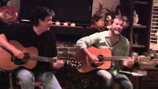 Jon Christopher Davis and Tom Faulkner at hatlesshouseconcerts