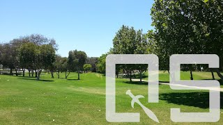 School & golf course FPV freestyle