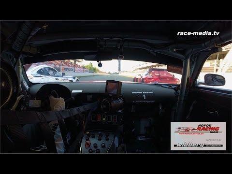 race-media.tv Onboard Classix: Hofor Racing Mercedes-AMG GT3 24H Barcelona 2018 C. Frankenhout