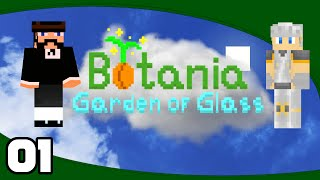 Botania: Garden Of Glass - Ep. 1: Grow, Tree! | Minecraft Modded Skyblock Lets Play