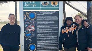 Gardner heads to Muruwari country, explores Indigenous roots | Direct Hit