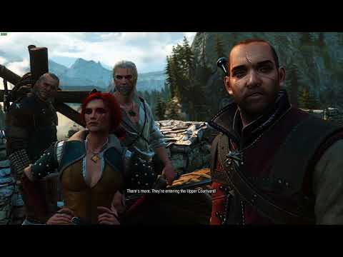 Witcher 1 Prologue Remastered – full gameplay (witcher 3 mod)