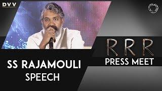 Director Rajamouli Speech @ RRR Press Meet