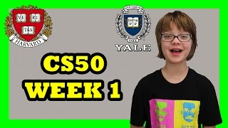 Learning to Code at Harvard - CS50 Week 1 - Day 956   ActOutGames