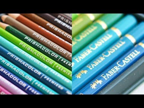 Prismacolor Premier vs Polychromos de Faber Castell