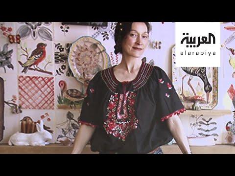 العرب اليوم - شاهد: فنانة تحوِّل كل زاوية في بيتها للوحة فنية خلال الحجر المنزلي