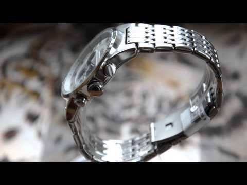 Video Esprit Grand Legend Silver Herren Armbanduhr Chronograph ES101911006