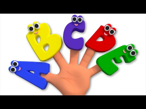 Alphabets Finger Family | ABC Song For Kids | Nursery Rhymes For Childrens