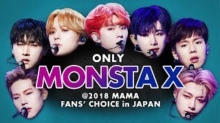 MONSTA X at 2018 MAMA in JAPAN | All Moments