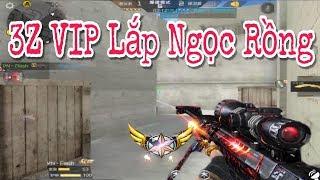 CF Legends : 3Z VIP Lắp Thêm Ngọc Rồng Sniper Nó Chất Thế Này Đây