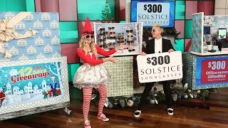 Ellen Celebrates Day 2 of 12 Days of Giveaways! - Video Youtube