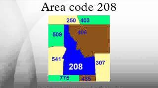 Area code 208