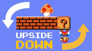 What if Mario was Upside Down? #shorts
