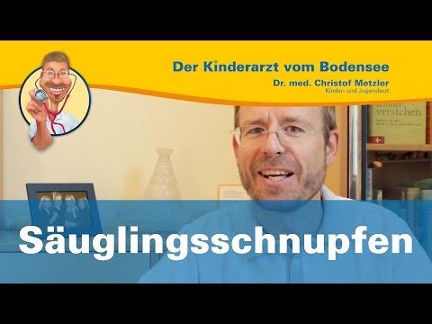 Säuglingsschnupfen - Der Kinderarzt vom Bodensee