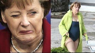 Angela Merkel's Snake Dance - Jew World Order ☭