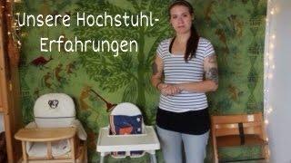 Unsere Erfahrung mit Hochstühlen | Herlag | Ikea (Antilop) | TripTrap (Treppenhochstuhl)