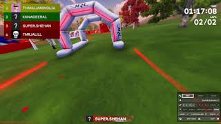 Racing with SL FPV Pilot in DRL Simulator