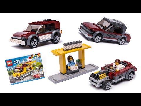 Lego City 60150 Moc Alternative Build Tutorial смотреть онлайн на