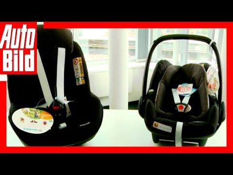 Tutorial/Ratgeber/ Review/ Test Kindersitze Maxi Cosi