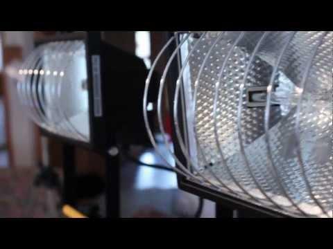 as-Schwabe Halogenstrahler 2x 500W mit Stativ Unboxing und First Look - felixba94