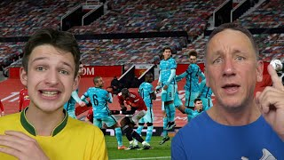 MAN UNITED 3-2 LIVERPOOL REACTION HIGHLIGHTS - FA Cup