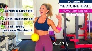 30-Minute MEDICINE BALL WORKOUT   Advanced Level