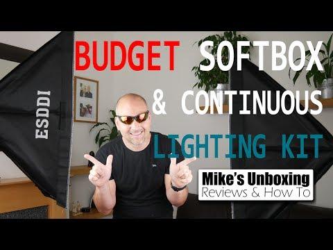 Best Budget Studio Lighting Kit From ESDDI