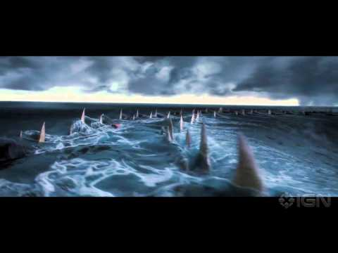 Percy Jackson: Sea of Monsters (Clip 'Those Arent Sharks')