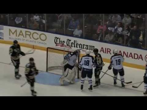 Highlights: Penguins 2 IceCaps 1 (OT) (Oct. 17 2014)