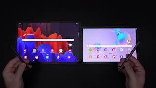 Samsung Galaxy Tab S7+ vs Samsung Galaxy Tab S6