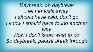 Air Supply - Daybreak Lyrics