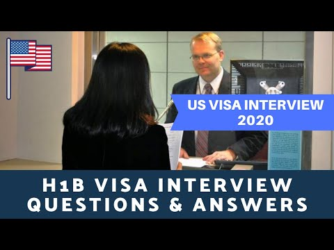 H1B Visa interview in India - YouTube