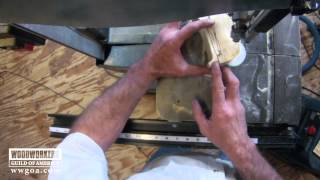 Woodworking Tips Band Saw  Benefits Of Small Blade On Band Saw