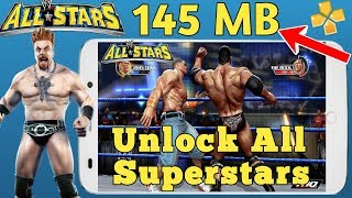 WWE All Stars PSP Unlock All Superstar Simple and Easy Step