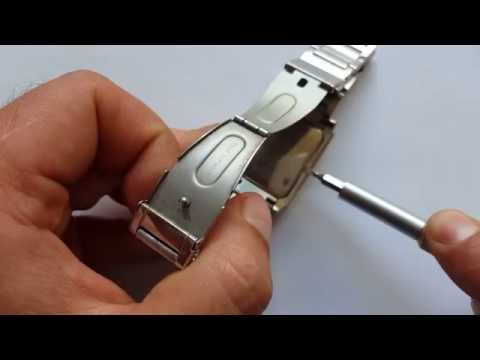 Uhr batterie wechseln ohne Werkzeug (Replace Watch battery without tools)