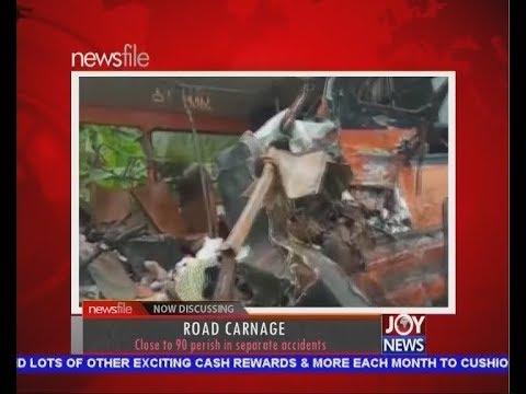 Road Carnage - Newsfile on JoyNews (23-3-19)