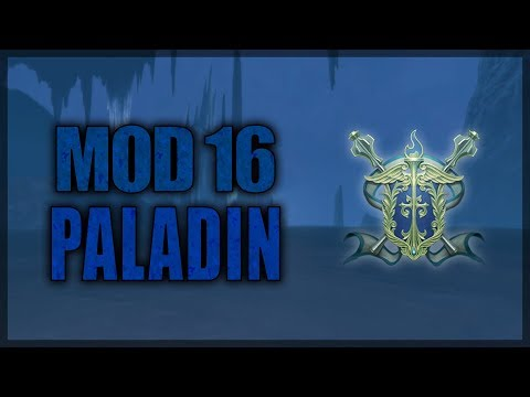 Neverwinter Mod 16 Paladin Class Overview (partially