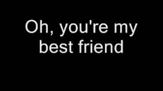 Queen - You're My Best Friend (Lyrics)